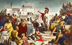 knowing the roots of classical athenian democracy is essential to understanding our own. The roots of our own democracy are instituded in this ancient greek culture. Art Of Manliness, Athenian Democracy, Classical Athens, Classical Period, George Patton, Frederic, The Orator, Socrates, Wtf Fun Facts