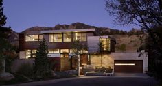 The Syncline House