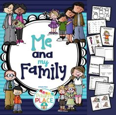 Me and My Family 120 pages Through experimentation and play, children use their interest in people and how things work to make sense of their world. Exploring how diverse families are helps young learners to accept differences.