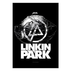 Linkin Park Atomic Age Fabric Poster