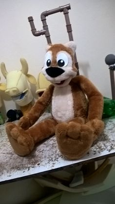 Squirrel Puppets by Bruno Soares ( Brunokids  Professional Puppets)