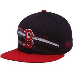 Boston Red Sox Navy Blue Fantabulous 9FIFTY Snapback Adjustable Hat