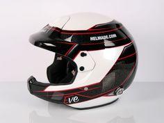 #helmade #helmetdesign for #EveWallenwein German #WRC #rallye driver. Create…
