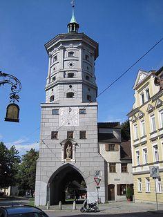 Augsburg, Wertachbruckertor