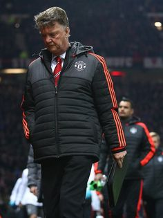 Louis van gaal after being knocked out of Europe by Liverpool Football Daily, Football Soccer, Daily News, Canada Goose Jackets, Liverpool, Derby, Winter Jackets, Europe, Van
