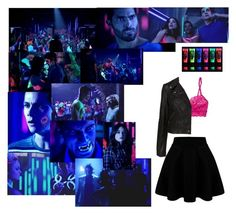 """""""Blacklight party with Allison and Lydia 