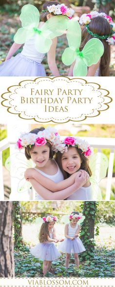 You will fall in love with our whimsical Fairy Party Collections! All you will need for a Magical Fairy Party from Fairy Wings, Tutus, Flower Crowns, Fairy Tableware and decorations! Fall Birthday Parties, Fairy Birthday Party, Garden Birthday, Birthday Party Themes, Girl Birthday, Fun Party Themes, Tea Party Decorations, Party Ideas, Fabulous Birthday