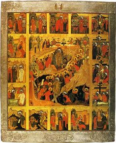 The Resurrection—The Descent into Hell with the Scenes of the Passion of the Christ