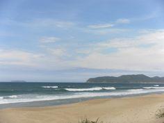 Praia do Moçambique com vista para a Praia da Barra da Lagoa