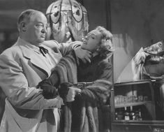 Sydney Greenstreet and Joan Crawford in Flamingo Road (1949) Directed by Michael Curtiz
