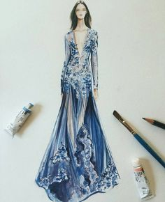 cool 514 個讚,6 則留言 - Instagram 上的 BROOKLYN HILL(@sketchfashionillustration):「 Jean... Fashion designers Check more at http://pinfashion.top/pin/72030/