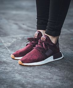 69527bb7abc ONLINE NOW Adidas NMD Xr1 Primeknit W - Maroon Classic Burgundy Footwear  White available