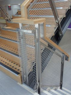 Best 33 Best Staircases And Railings Images Staircases Stairs Wire Mesh 400 x 300