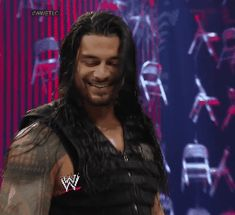 Roman Reigns. Love that smile
