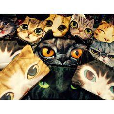 """""""Crazy catlady is here! Kissa laukut, lompakot ja pussukat ovat nyt rantautuneet ryminällä Cybershoppiin! Tulkaa hakemaan oma lemppari kisunne! Alkaen…"""""""
