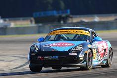 Next Level European wins the ST class race at Sebring in their #83 Porsche Cayman on one piece forged monoblock GS1R wheels.  #Forgeline #forged #monoblock #GS1R #notjustanotherprettywheel #madeinUSA #Porsche #Cayman