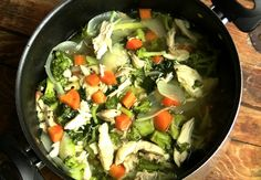 Clean Eating – Chicken Vegetable Soup