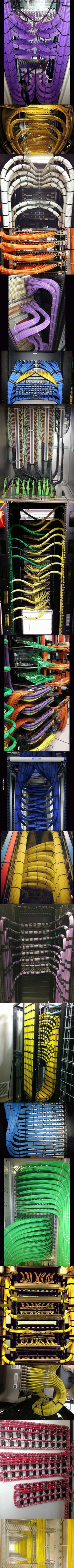 Beautiful cable management