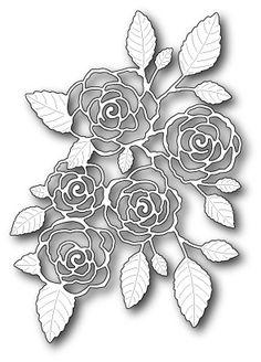 Memory Box ENGLISH ROSE BOUQUET Craft Die 99139