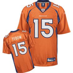 f04c1583a reebok denver broncos tim tebow 15 orange authentic jerseys sale
