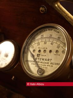 Buick, Buick Model 5, Vintage, Rolls Royce, Stewart, Reloj, Velocímetro, Speedometer, ©Xabi Albizu