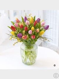 Spring Flowers Dublin from Floral Scents Florist. Beautiful Spring flowers delivered for all occasions. Easter Flowers, Valentines Flowers, Mothers Day Flowers, Christmas Flowers, Spring Flowers, Best Flower Delivery, Flower Delivery Service, Online Flower Delivery, Tulips In Vase