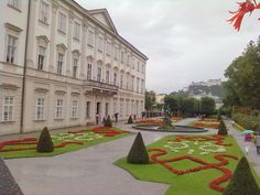 Jardines, Palacio Mirabell, Salzburgo, Austria.... Giardini,Palazzo Mirabell, Salisburgo, Austria