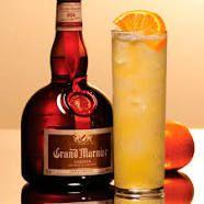 Grand Orange Collins With Grand Marnier, Orange Juice, Fresh Lemon Juice, Simple Syrup, Club Soda Liquor Drinks, Whiskey Cocktails, Wine And Liquor, Cocktail Drinks, Fun Drinks, Cocktail Recipes, Alcoholic Drinks, Beverages, Yummy Drinks