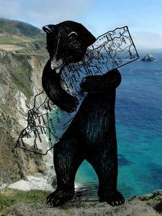 let's bear hug this out cali California Dreamin', Northern California, California Republic, Cali Girl, Tumblr, Art Plastique, Looks Cool, Map Art, Travel Posters