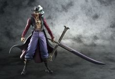 Eyes Jura Hercule Mihawk of Portrait.Pirates One Piece Series NEODX Hawk re production by Megahouse >>> You could obtain even more information by clicking the picture. (This is an affiliate link). One Piece Theme, One Piece Pop, One Piece Figure, One Piece Series, Anime Figures, Action Figures, Arte Cyberpunk, Anime Toys, Figure Model