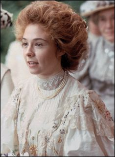 Posting this for the hairstyle. I love the Gibson Girl Styles, even now I will wear my hair like this on occasion