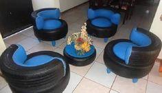 DIY Projekte   Basteln Sie Interessante Möbel Aus Autoreifen   Cool Stuff    Pinterest   Autoreifen, Diy Projekte Und Möbel