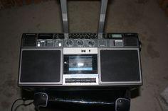 Telefunken RC 760 Stereo Kasettenradio mit ukw mw lw und kw 49 -19m Band