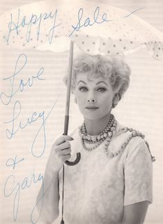 It's a memory play of an Icon, LUCILLE BALL whom he cherished and admired. Description from archive.constantcontact.com. I searched for this on bing.com/images
