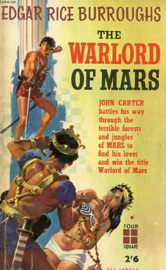 The Warlord of Mars - Four Square Books