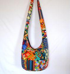 Crossbody Bag Hobo Bag Sling Bag Hippie Purse by 2LeftHandz