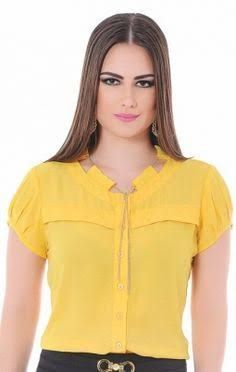 Swans Style is the top online fashion store for women. Shop sexy club dresses, jeans, shoes, bodysuits, skirts and more. Blouse Styles, Blouse Designs, Elle Fashion, Womens Fashion, Casual Wear, Casual Outfits, Kids Dress Wear, Work Tops, Teenager Outfits