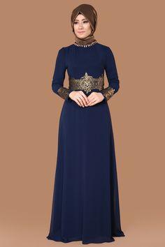 Varak Detay Şifon Abiye Laci Ürün kodu: RZ6020 --> 119.90 TL Hijab Gown, Hijab Evening Dress, Hijab Dress Party, Hijab Wear, Hijab Outfit, Evening Dresses, Abaya Fashion, Muslim Fashion, Fashion Dresses
