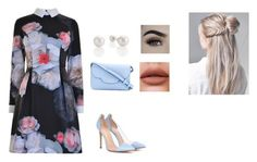 """""""Untitled #78"""" by anafasie on Polyvore featuring Ted Baker, Gianvito Rossi and Kate Spade"""
