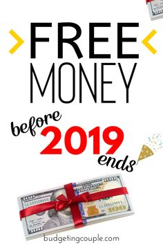 Use our tried and tested money hacks to rack up TONS of free money before 2019 ends! These life hacks are the perfect way to start making money and ge Make Easy Money, Make More Money, Make Money From Home, Extra Money, Extra Cash, Best Money Saving Tips, Money Tips, Money Hacks, Saving Money