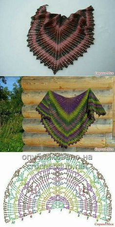 Crochet Wild Wheat Shawl Free