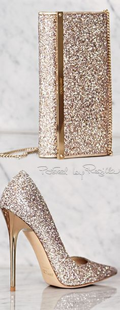 Regilla ⚜ Jimmy Choo | You can see the Rest of the Outfit and my Comments on this board.  -  Gabrielle                                                                                                                                                                                 More
