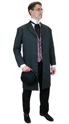 Gentlemans Emporium -- Mens Victorian Clothing -- Alexander Parrish, Medical Doctor