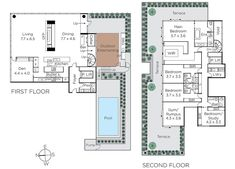 Open House | Alexandra Penthouse by Dita Studio Parquetry Floor, Suburban House, Elegant Kitchens, Tongue And Groove, Room Dimensions, Ceiling Windows, Outdoor Fire, Step Inside, Pent House