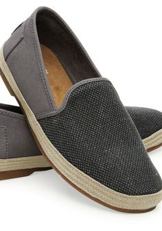 TOMS managed to relax the loafer with this silhouette.