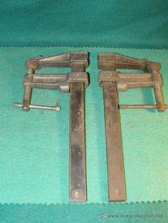 Coleccion de herramientas antiguas de carpintero old tool for Gato de carpintero