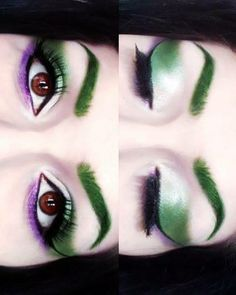 The Joker inspired makeup
