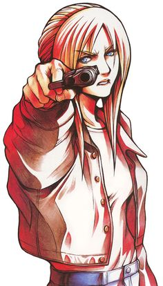 Parasite Eve (1998) character art by Tetsuya Nomura