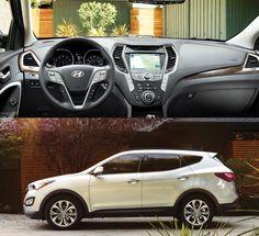 Hyundai Santa Fe Sport interior