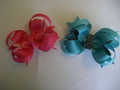 Two bows for one low price by AbraBOWdana on Etsy, $10.50